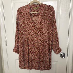 Rock Flower Paper Tunic